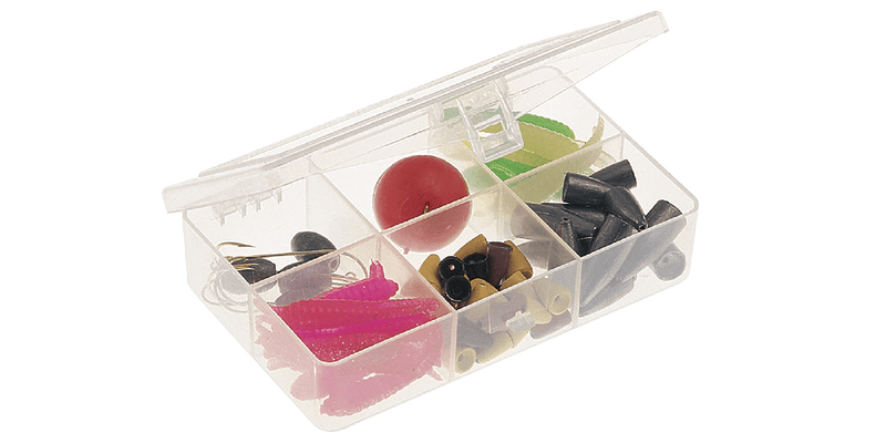 Plano Stowaway Six-Compartment Tackle Organizer Utility Box 3448-60