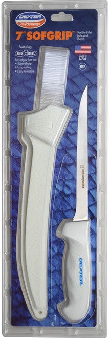 Dexter Russell SofGrip Flexible Fillet Knives with Sheath