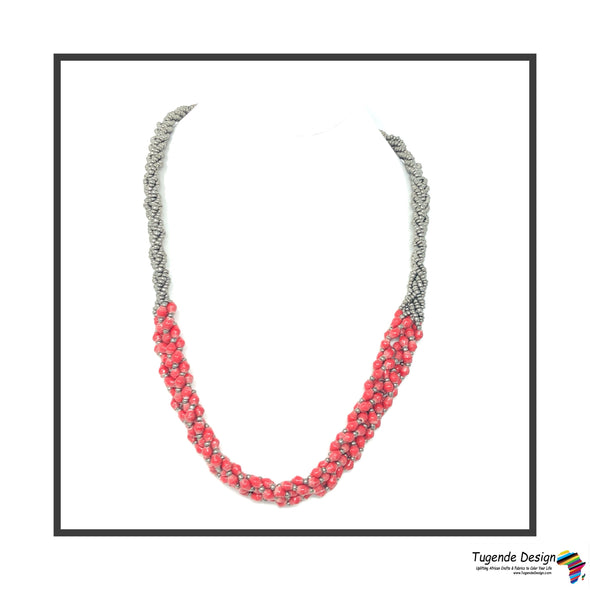 Abambejja Signature Necklace (Red)