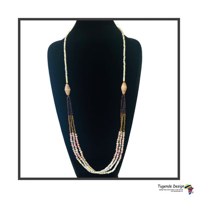 Birungi Necklace (Cream or Rose)