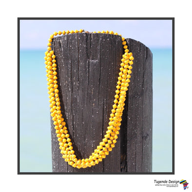Maggie Handmade Beaded Multistrand Necklace (Available in 6 Colors)