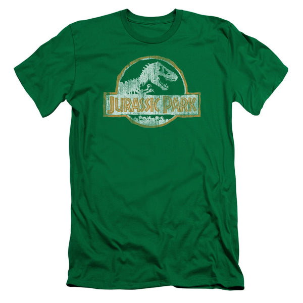 Jurassic Park - Jp Orange Short Sleeve Adult 30/1