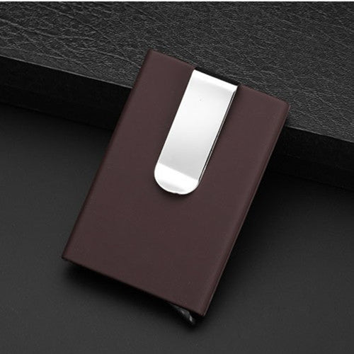 Travel Card Wallet Automatic Pop Up