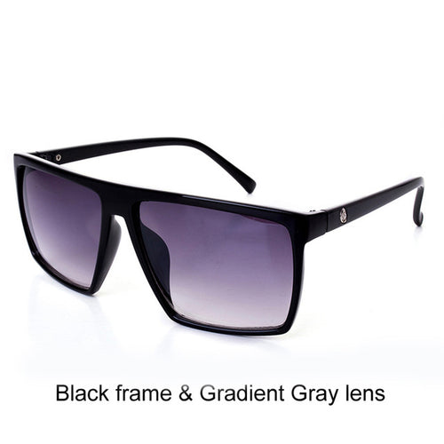 Men Designer Over-sized Square Sunglasses