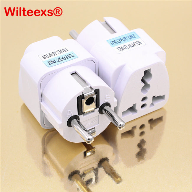 1 PC Universal UK US AU to EU AC Power Socket