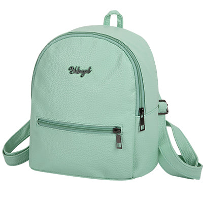Sale Fashion Backpack Purse style solid women rucksack bag soft