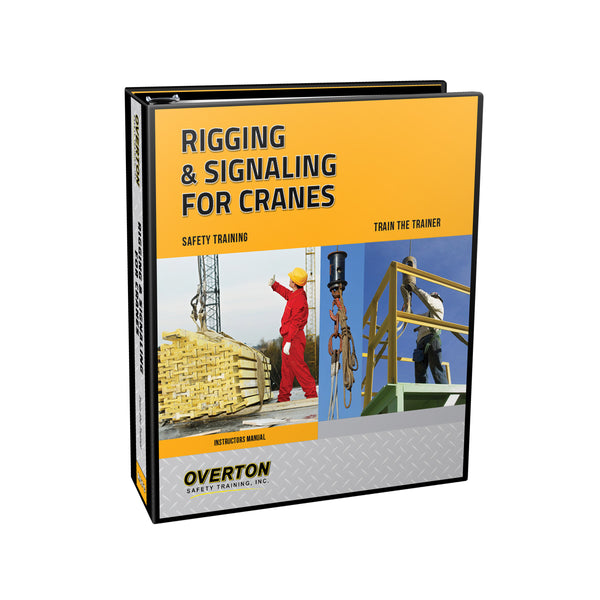 NEW! Rigging and Signaling Safety for Cranes - Trainer Kit