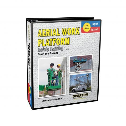 Aerial Work Platform Safety Training (Dual Language) - Trainer Kit