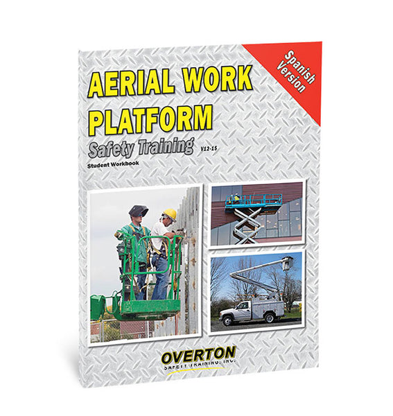 Aerial Work Platform Safety Training (Spanish) - Student Handbook Refill