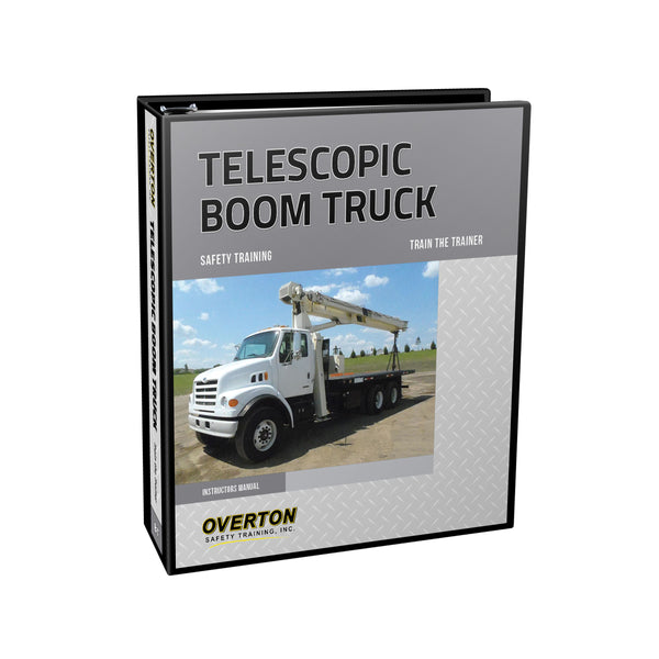 Hydraulic Telescopic Boom Truck Safety - Trainer Kit