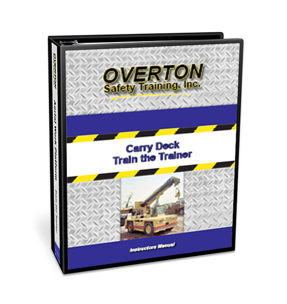 Carry Deck Safety - Trainer Kit