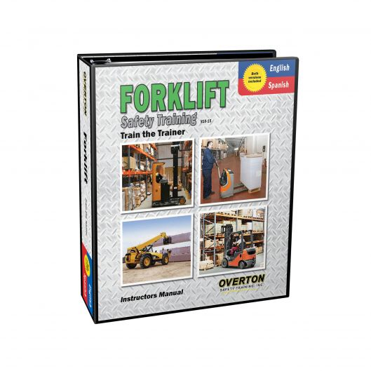 Forklift Safety Training (Dual Language) - Trainer Kit