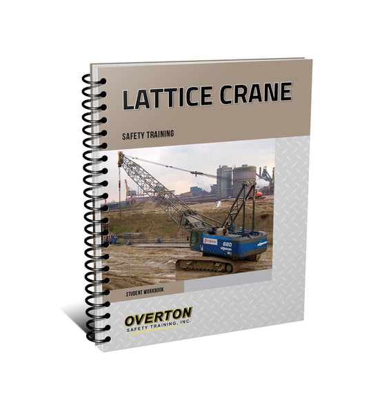 Lattice Mobile Crane Addendum Safety Training - Student Handbook Refill