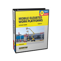 Mobile Elevated Work Platform Safety Training (Dual Language) - Trainer Kit