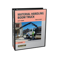Material Handling Boom Truck Safety - Trainer Kit