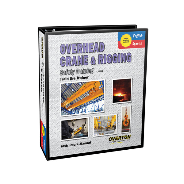 Overhead Crane & Rigging Safety Training (Dual Language) - Trainer Kit