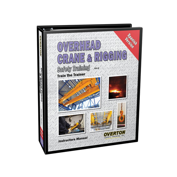 Overhead Crane & Rigging Safety Training (Spanish) - Trainer Kit