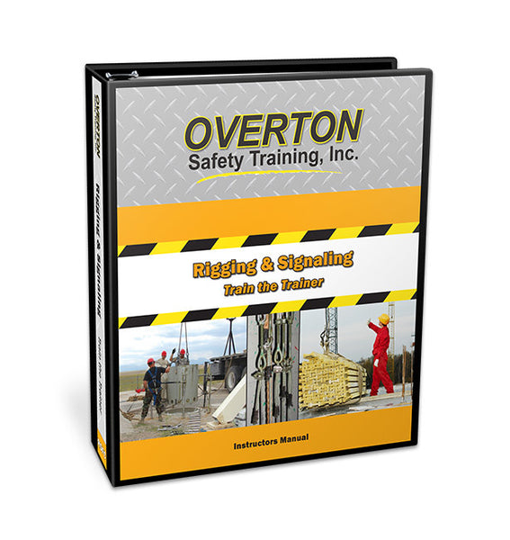 Rigging and Signaling Safety for Cranes (Classic) - Trainer Kit