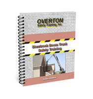 Sheet Rock Boom Truck Safety - Student Handbook Refill