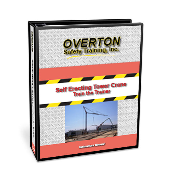 Self Erecting Tower Crane Safety - Trainer Kit