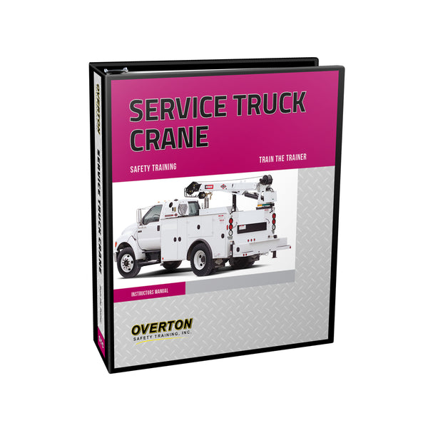 Service Truck Crane Safety - Trainer Kit