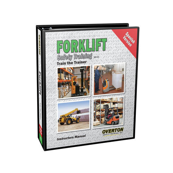 Forklift Safety Training (Spanish) - Trainer Kit