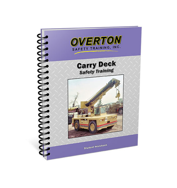 Carry Deck Safety - Student Handbook Refill