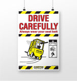 Set of Forklift Safety Posters
