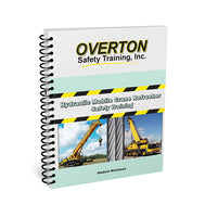 Hydraulic Mobile Crane Safety Refresher - Student Handbook Refill