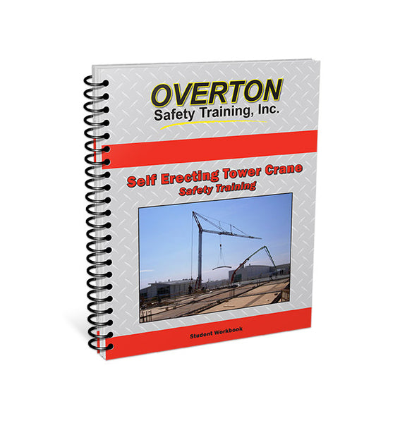 Self Erecting Tower Crane Safety - Student Handbook Refill