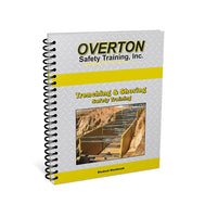 Trenching and Shoring Safety - Student Handbook Refill