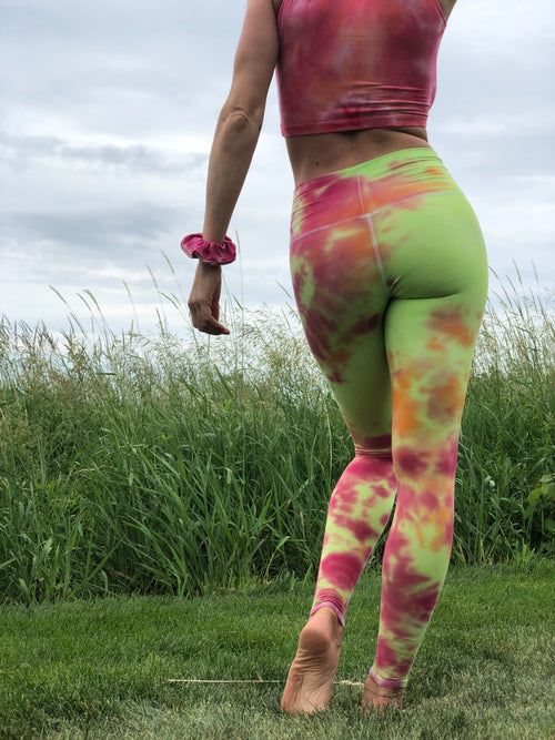 Neon Swirl Leggings