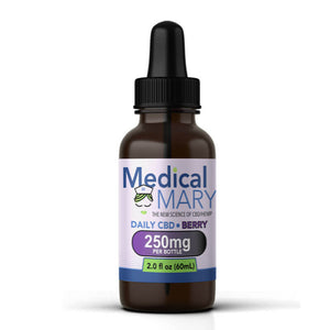 Daily CBD – Mixed Berry Flavor (250mg)