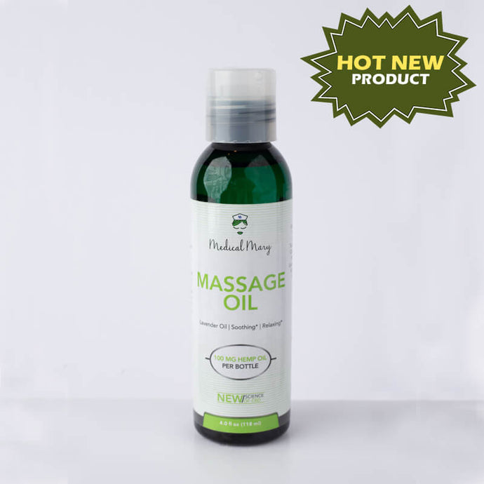 Massage Oil 100mg