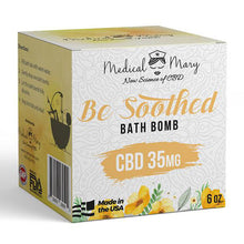CBD Be Soothed Bath Bomb 6oz 35mg