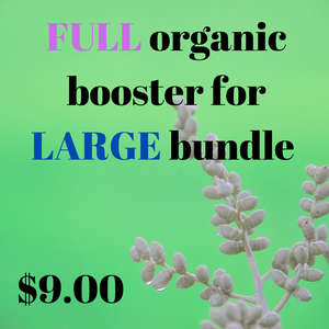 Organic booster — Full Large