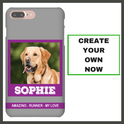 Awesome Furry Friend Customized Phone Case