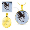Circle Necklace With Your Pet's Picture