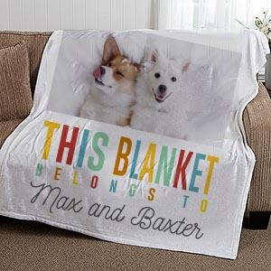 Shop Customized Pet Blankets My Personal Paws