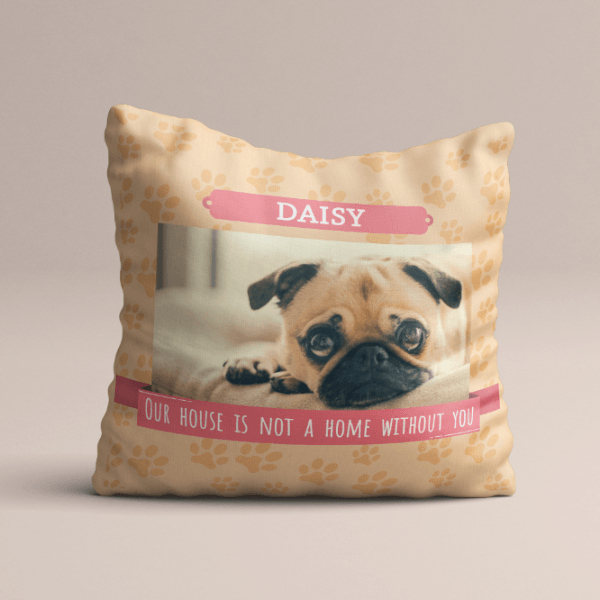 d07eb77ef4554 Buy Personalized Pet Picture Pillows online - My Personal Paws