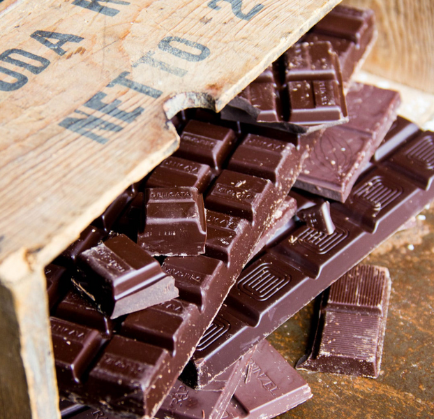 Most Dark Chocolate Bars Contain Milk
