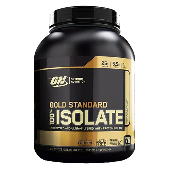 Gold Standard 100% Isolate, 5 Libras