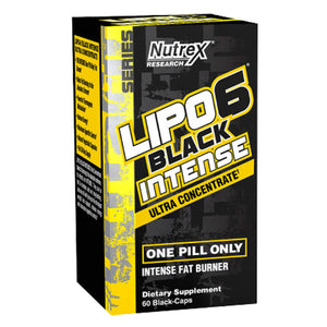 Lipo-6 Black Intense Ultra Concentrado, 60 Capsulas