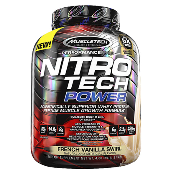 Nitro-Tech Power, 4 Libras