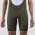 Olive House Bib Shorts - Olive Block