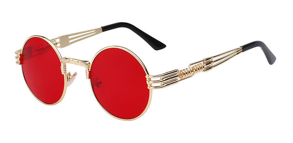 Red/Gold Steampunk Glasses