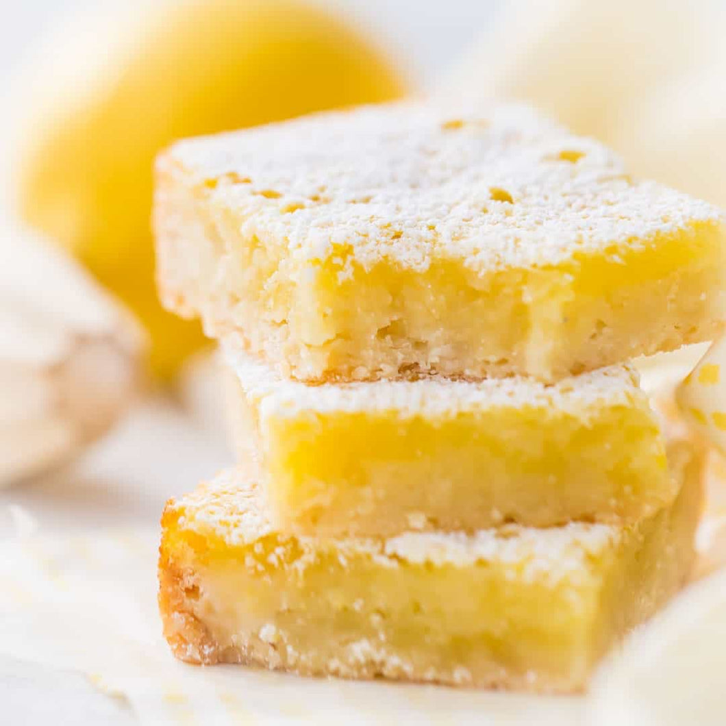 GLUTEN-FREE LEMON BAR