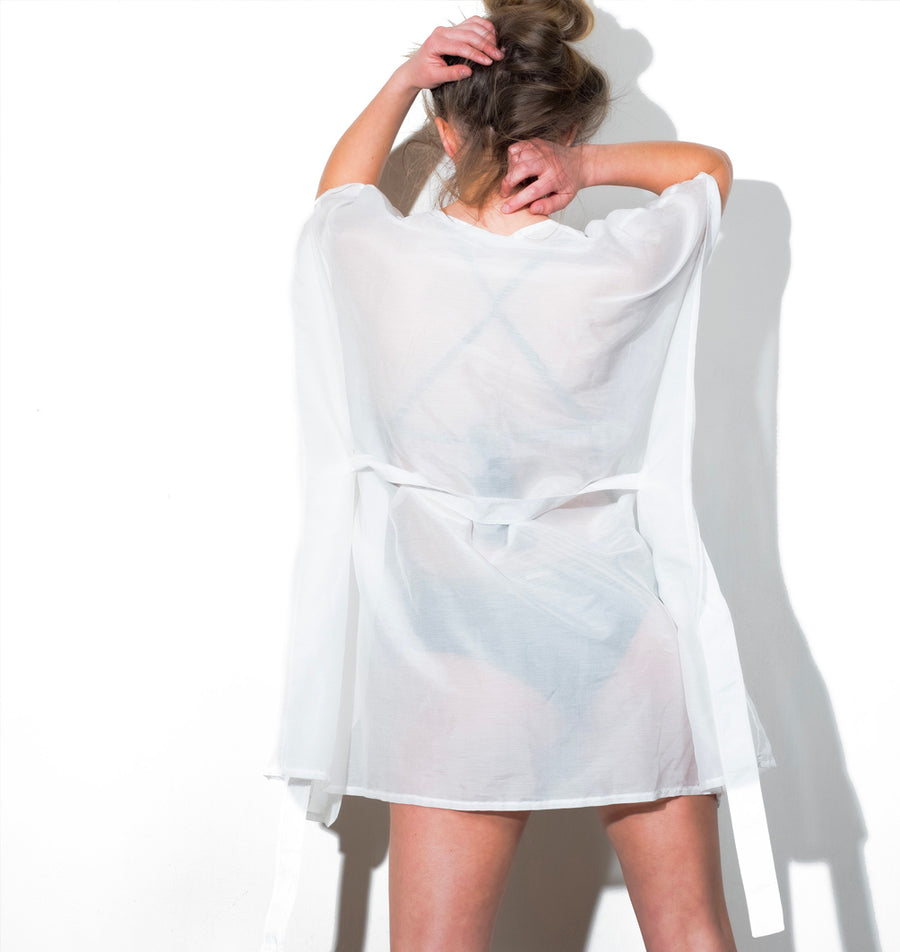 kimono court made in france baie brune