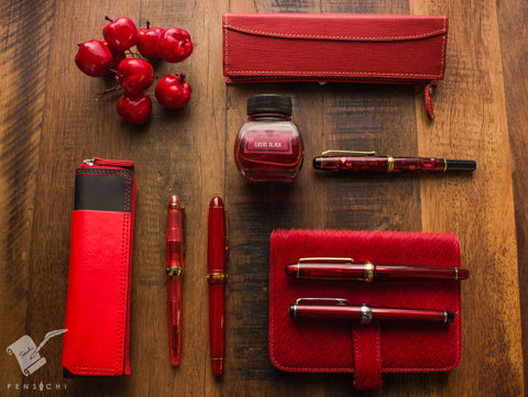 Red Fountain Pens