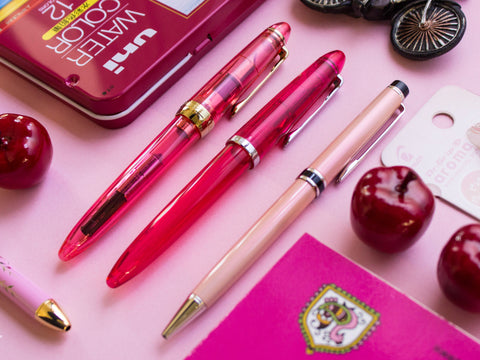 Pink Fountain Pens
